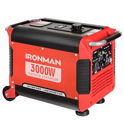 3000W Portable Inverter Gasoline Generator Quiet Lightweight
