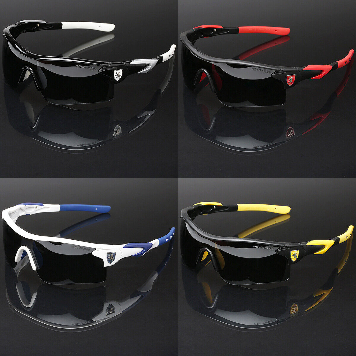 Polarized Sport Men Cycling Baseball Golf Ski Sunglasses Fishing Driving Glasses