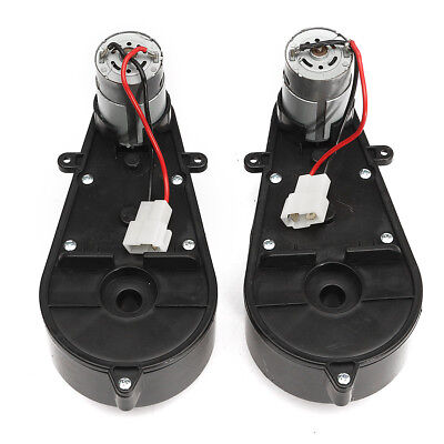 DC 12V Power Wheels Gearbox and Motor Gear for Jeep Ride On Toys 1 Pair For Car segunda mano  Embacar hacia Mexico