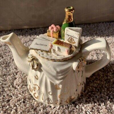 RARE Paul Cardew Anniversary Tea Table Two Cup Teapot