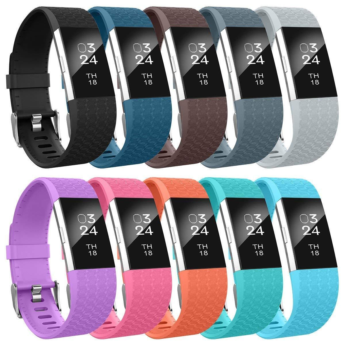 For Fitbit Charge 2 Band Silicone Fitness Replacement Access