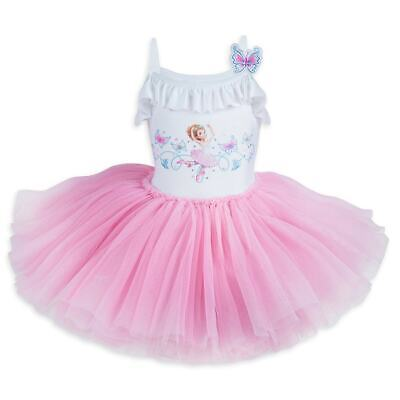 Party Girl Dress Store (Disney Store Fancy Nancy Deluxe Leotard Dress for Girls Party Outfit)