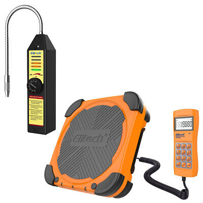 Elitech Wjl-6000s Refrigerant Leak Detector Lmc-300 Charging Scale Hvac Ac Tool