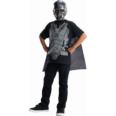Man of Steel Superman General Zod Child Costume - Man Of Steel Kostüm Shirt
