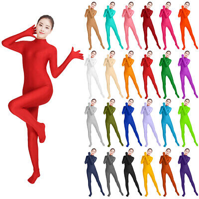 Costume Lycra Spandex Zentai Headless Second Skin Full Body Suit for Women - Headless Woman Costume