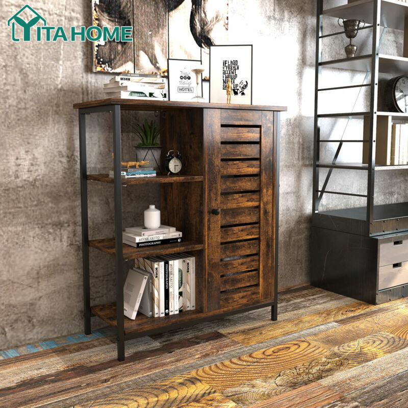 floor storage cabinet wooden display bookcase free