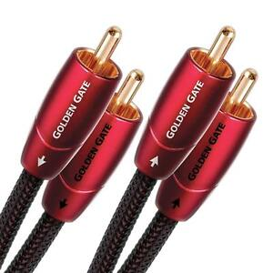 AudioQuest Golden Gate 1m (3.28ft) RCA to RCA Analog Audio Interconnect Cable