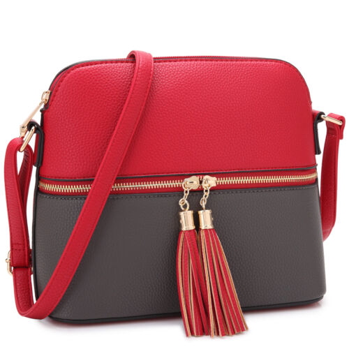 womens handbags faux leather crossbody messenger shoulder