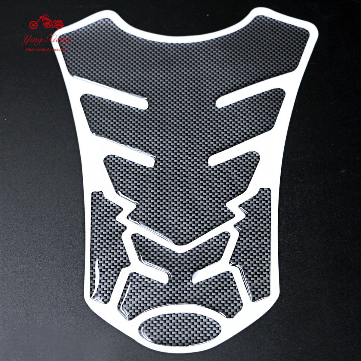 Fuel Tank Decal Pad Gas Cap Sticker Protector For Honda Suzuki Kawasaki Yamaha