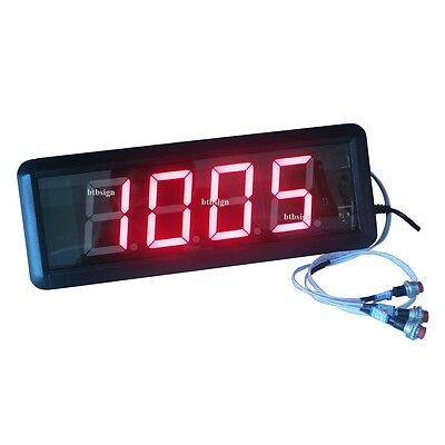 1.8 4digits Led Number Counter Countdown Count Up From 9999 To 0 Digital Timer