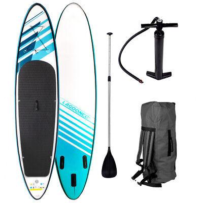 SUP Board Stand Up Paddle Surf-Board aufblasbar inkl. Paddel ISUP Paddling 320cm