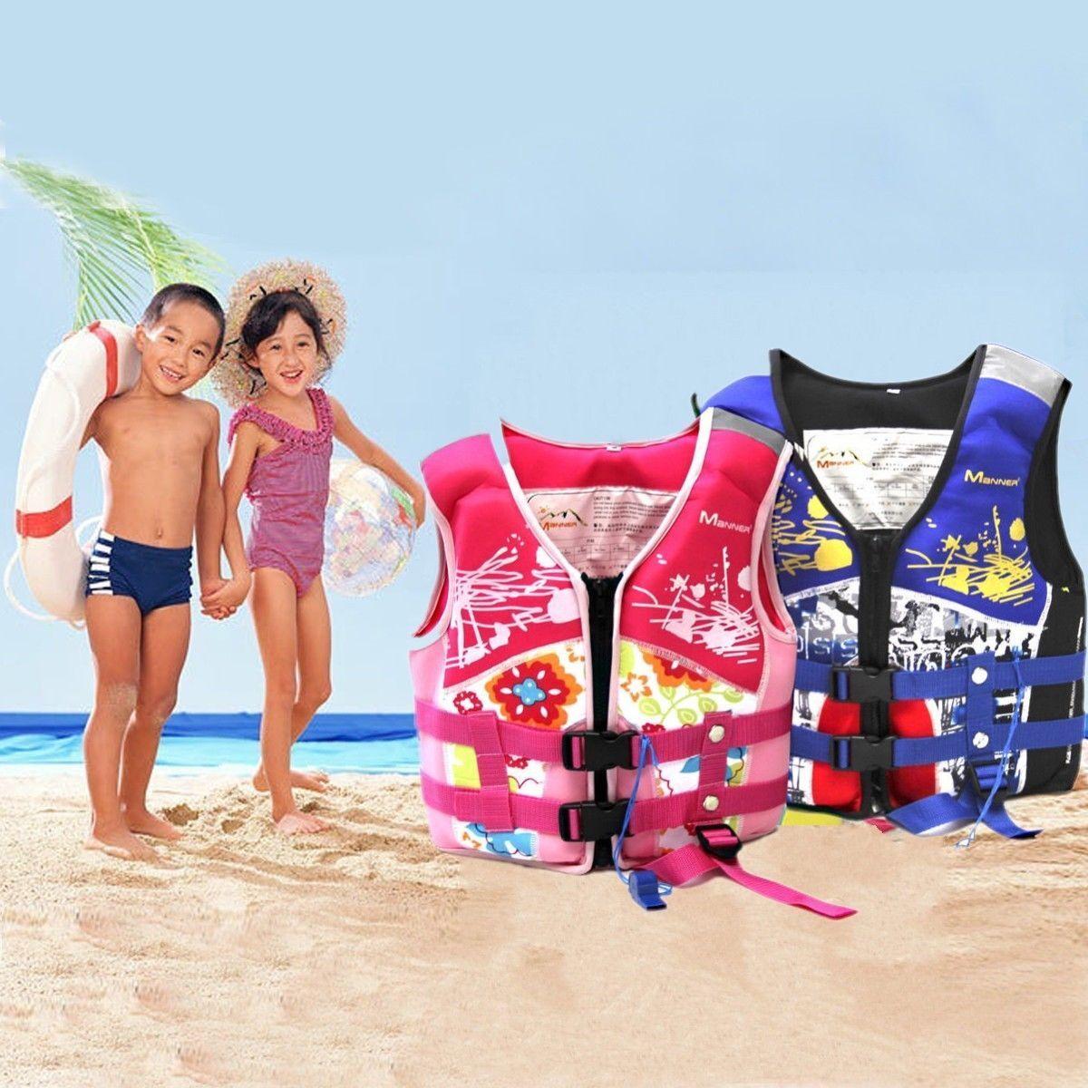 Kinder Baby1-10Jahr Schwimmweste Rettungsweste Schwimmhilfe Floating schützen ^^