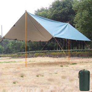 Waterproof Army Military Contracted Camping Shelter Tent Fishing Awning 3mx3.2m