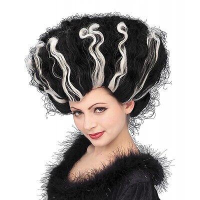 Bride of Frankenstein Wig Adult Halloween Costume Fancy - Halloween Bride