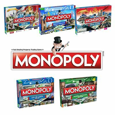 Monopoly Country Editions – Find Your Country of The Classic Family Board Game!