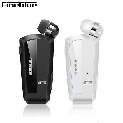 Fineblue F990 Wireless Bluetooth Headset Stereo Earphone Clip Mirror Headphone R Bluetooth Stereo Clip Headset
