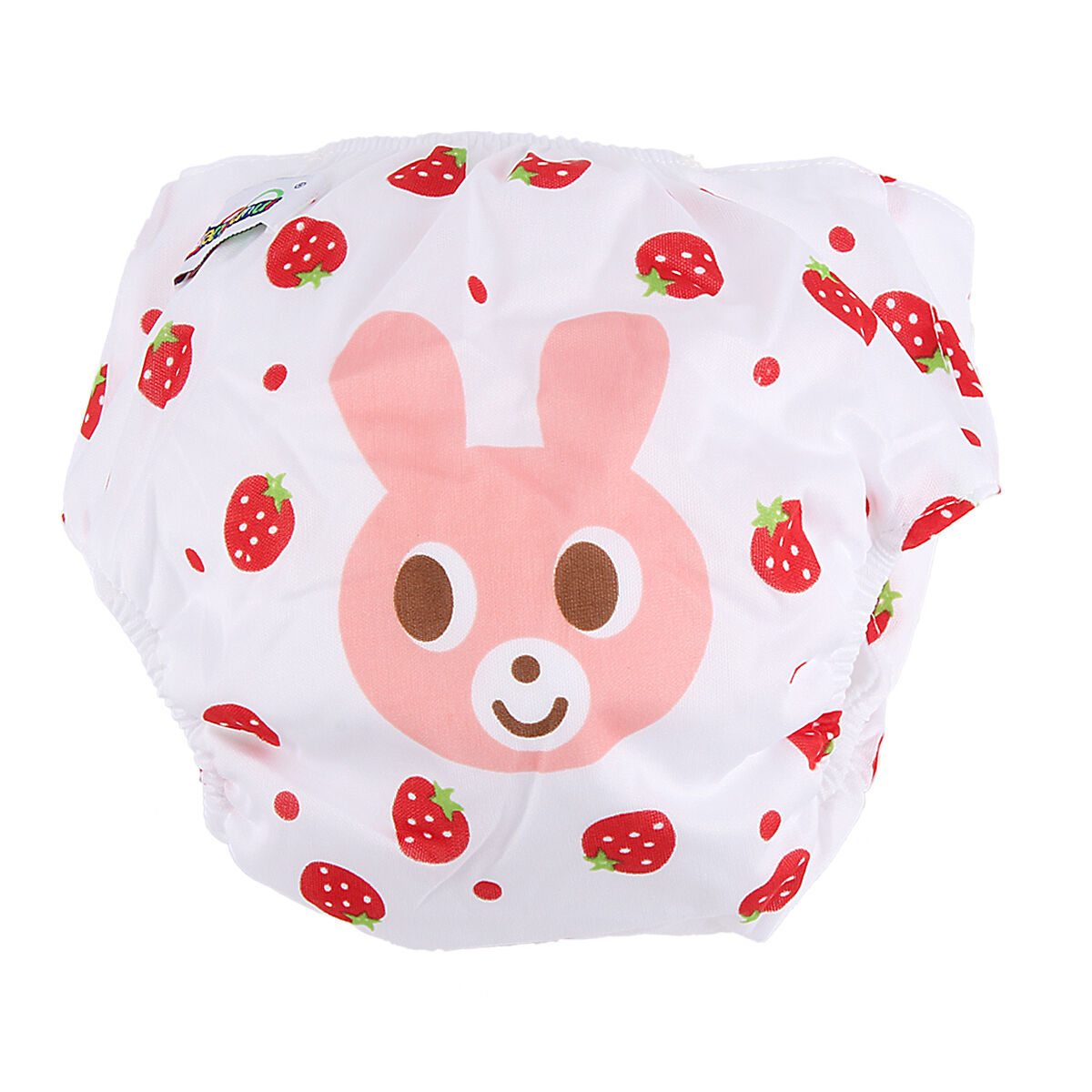 5pcs+ 5INSERT Lovely printing Adjustable Reusable Washable Cloth Diaper Nappies  Rabbit