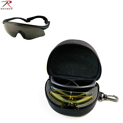 11337 Firetec ANSI-Rated Interchangeable Sport Safety Tactical Sunglasses