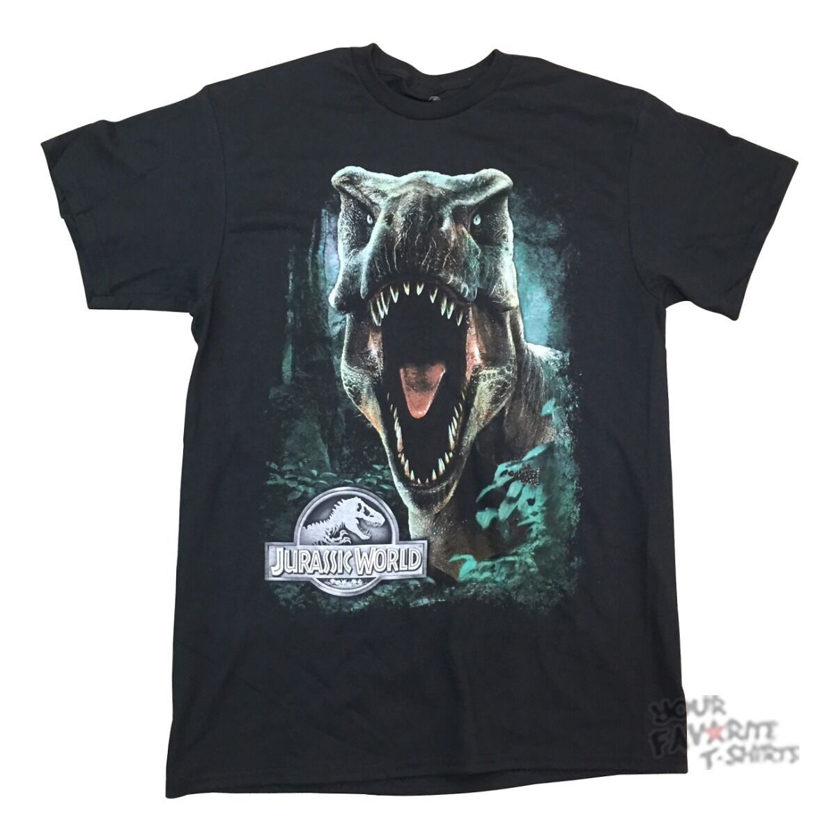 10 Set Id Jurassic World Movie Rex Park Licensed Adult Shirt Xxl