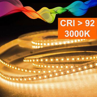 Tira LED 2835 Blanco Cálido (3000K) Cri 92 36W 5 Metro 12V...