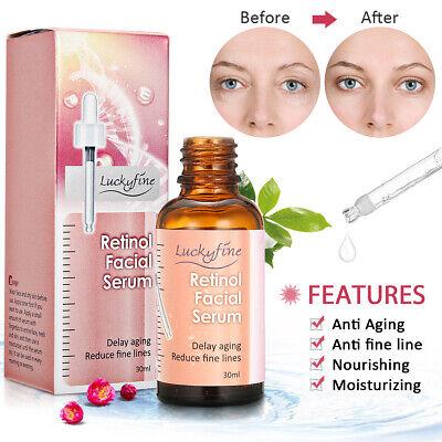 Retinol Facial Serum Vitamin A Hyaluronic Acid Aloe Vera & Argan Oil 30ml