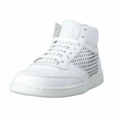 Dolce & Gabbana Men's White Leather Fashion Sneakers Shoes Sz 7 7.5 8