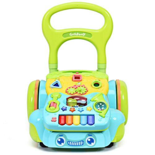 NEW, GOODWAY Early Development Baby Toy Sit-to-Stand Walker