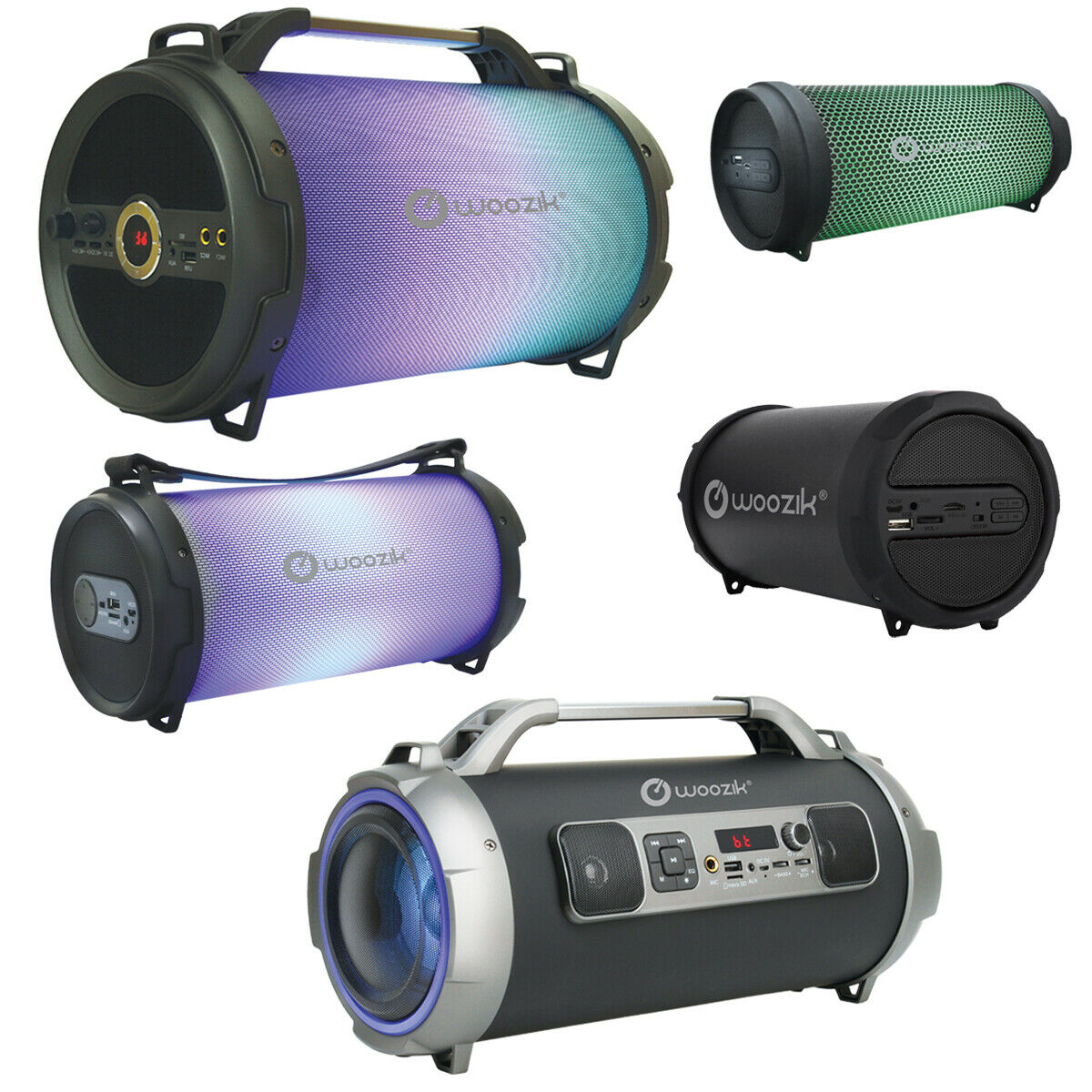 portable wireless bluetooth speaker boombox bass stereo