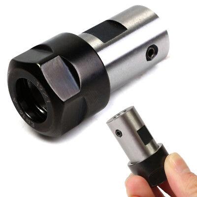 Collet Er16 Chuck Motor Shaft Spindle Extension Rod Inner 8mm F Cnc Milling Us