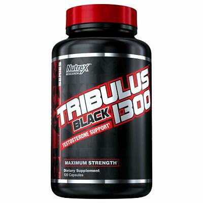 Nutrex Tribulus Black 1300 Testosterone Support, 120 Caps/Same Day A Shipping!!