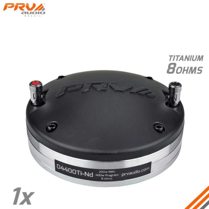 "1x PRV Audio D4400Ti-Nd Titanium Neodymium Compression Driver 2"" 400 Watts NEO"