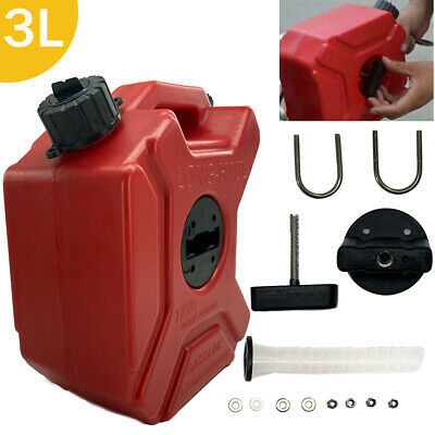 3l Jerry Can Gas Fuel Tank Storage Container Wbackup Petrol Motorcyclecaratv