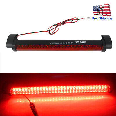 32 LED 12V Universal Car High Mount Third 3RD Brake Stop Tail Light Car Tail Brake
