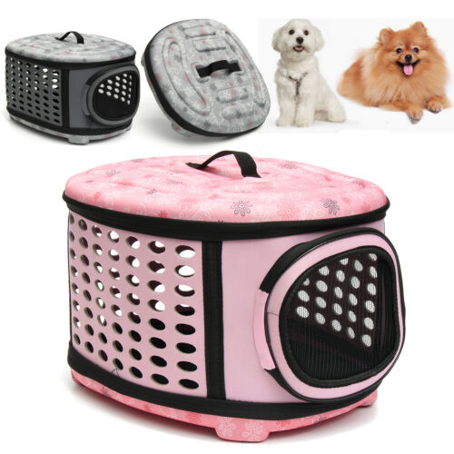 LARGE Pet Dog Puppy Travel Carrier Tote Portabel Cage Bag Crates Kennel Popular