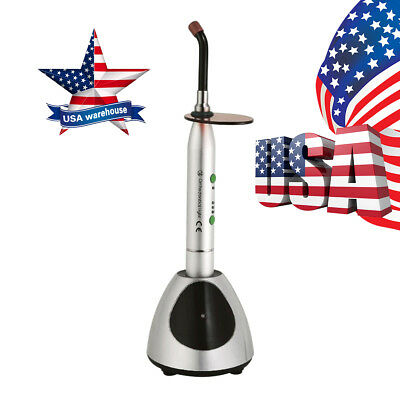 Usa Woodpecker Style Wireless Dental Led Curing Light Lamp 2700mw Noiseless