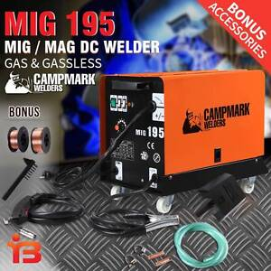 Discount on Campmark 180AMP MIG/MAG Gas & Gasless DC Welder Fairfield Fairfield Area Preview