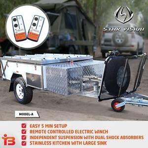 Adventure Off-Road Camper Trailer for Outdoor Travel & Storage Fairfield Fairfield Area Preview