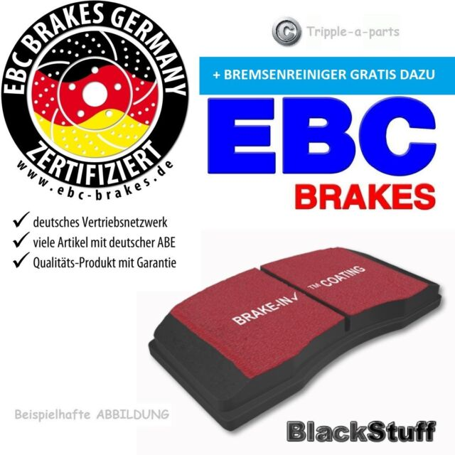EBC Blackstuff BREMSBELÄGE VORNE DP1520 Chevrolet Zafira F75 2.0