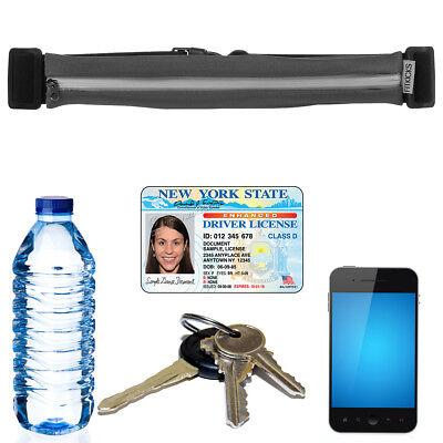 FitZip Fanny Pack Waist Band Belt Pouch Sports Travel Water Bottle Cell - Bottle Bands