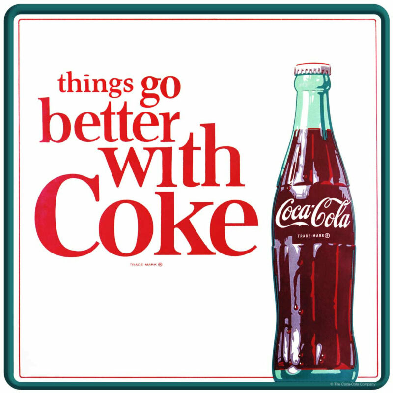 Coca-Cola TGBWC Bottle Decal Peel & Stick Wall Graphic