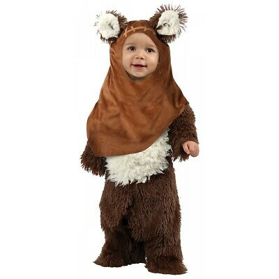 Ewok Wicket Costume Star Wars Halloween Fancy Dress