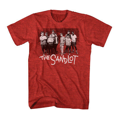 The Sandlot TV Movie Group Photo At The Lot Adult T Shirt  (Adult Movie Tv)