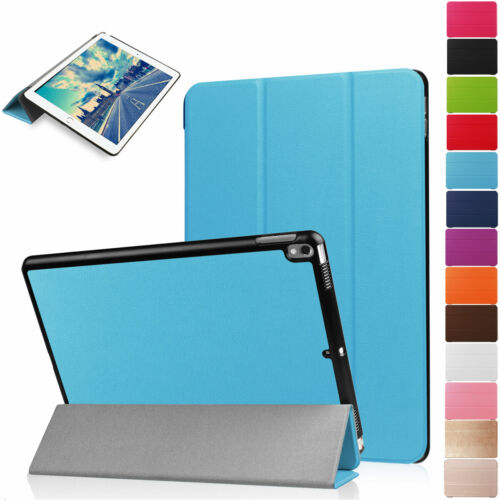 "For Apple iPad Pro 10.5"" Slim Leather Flip Smart Kickstand P"