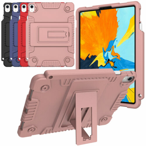 Kids Safe Shockproof Soft Case with Pencil Holder For iPad P