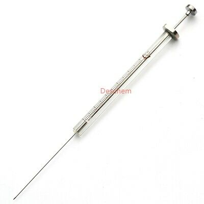10ul Glass Micro Syringe 0.01ml Lab Trace Injector Wsharp Needle Tip