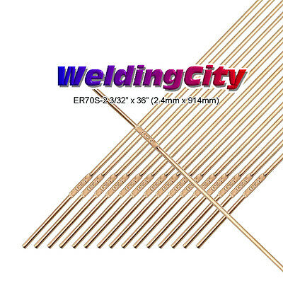 Weldingcity Er70s-2 5-lb Mild Steel Tig Welding Filler Rod 332x36 5-lb