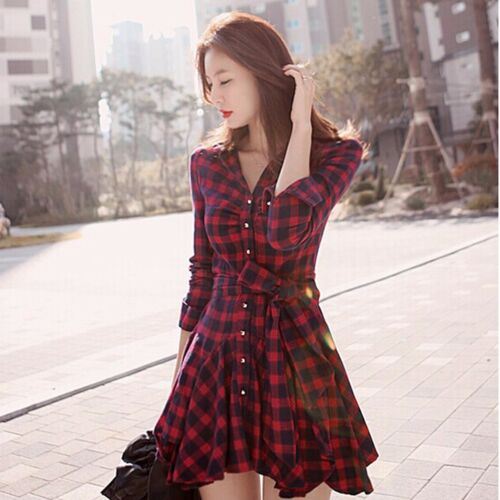 New Sexy Women Summer Casual Long Sleeve Evening Party Cocktail Short Mini Dress