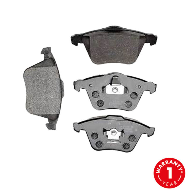 comline ford focus mk2 2004-2011 front brake discs & pads kit with