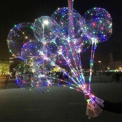 20'' Leuchten Ballon leuchtenden Glühen In der dunklen Hochzeit Geburtstag Dekor