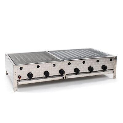 Profi-grill (Gasgrill 24 kW mit Rost   Gas Grill Bräter Gastro Profi und Privat)